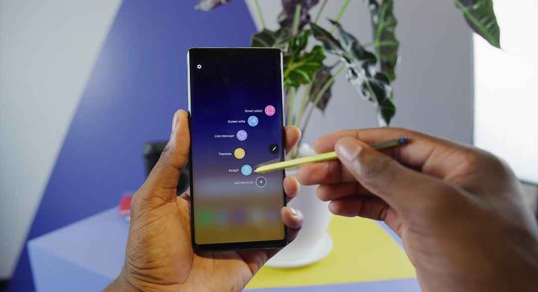 The Samsung Galaxy Note 9's S-Pen