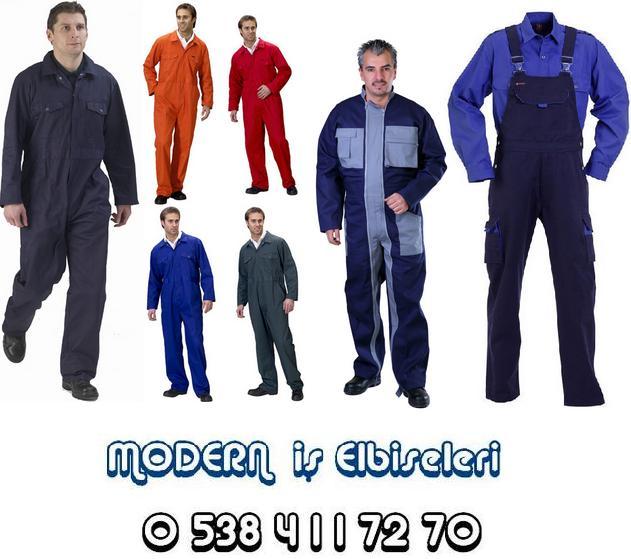 kişi iş paltarı iş önlüyü emalatı - 3