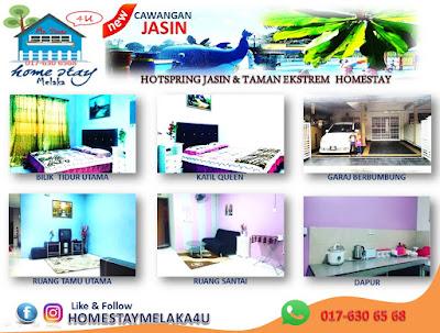 Info Homestay JASIN