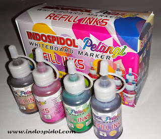 Indospidol Pelangi Whiteboard Marker Refill ink