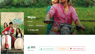 Download Majnu(2016) Nani Full Movie in HD Blu-Ray