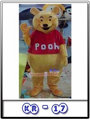 Gambar Badut Lucu Karakter Winnie The Pooh Kr-17