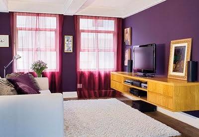 sala color morado