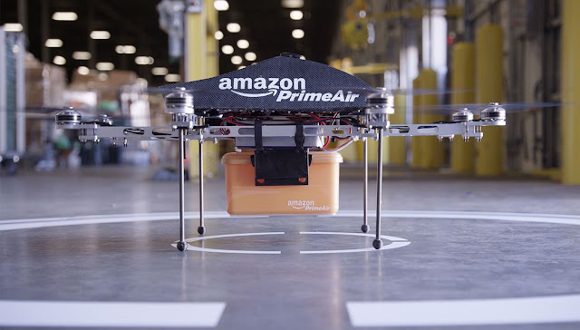 Amazon's Deliveries via Drones