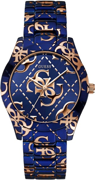 Guess Logo Crazed Watch W0472L1 Picture prize where to buy