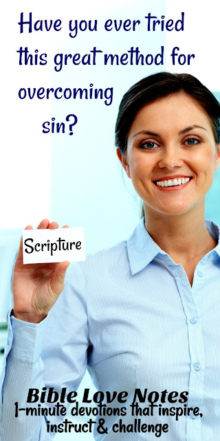 A Method for Overcoming Sin