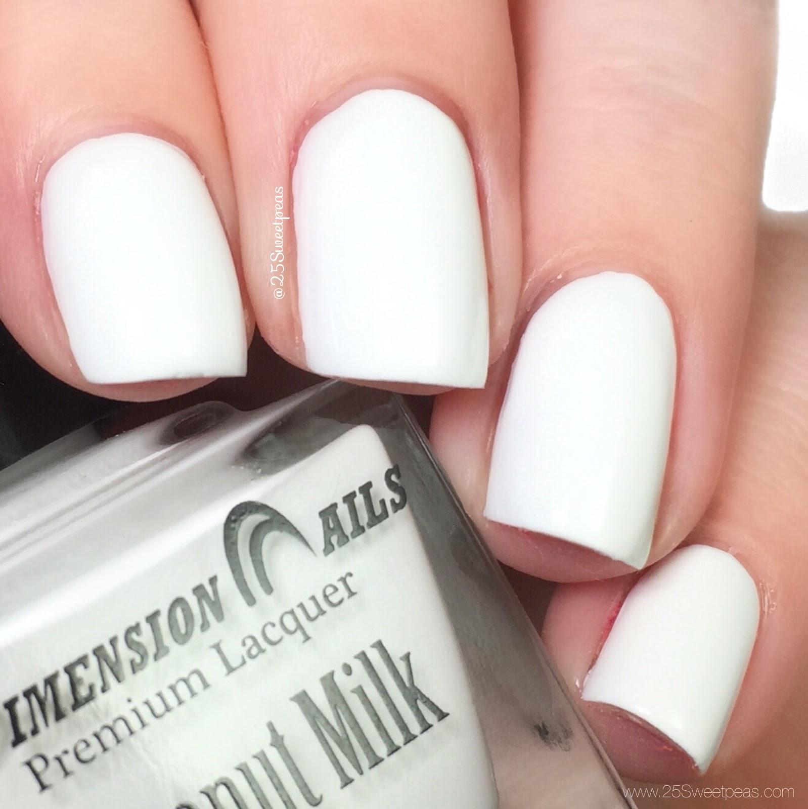 Dimension Nails Coconut Milk