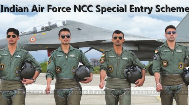 Indian Air Force NCC Special Entry Scheme