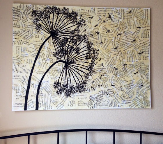 Newspaper Wall Decor Project Art Projects Art Ideas