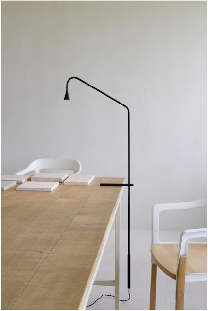 Austere T lamp by Hans Verstuyft