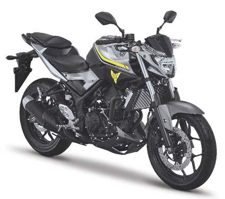 Yamaha MT-25 Hadir Dengan Grafis dan Warna Baru