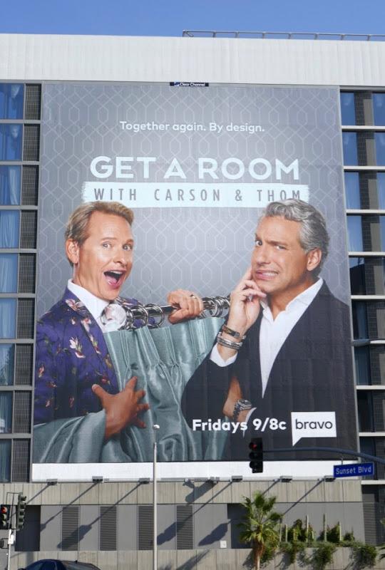 Get a Room Carson Thom series premiere billboard