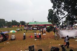 Miris! Mau Nandingi Condet Bersholawat, Acara Jokowi Hanya Dihadiri Seucrit Massa