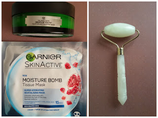 the body shop garnier skin massage
