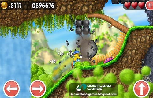 لعبة Incredible Jack Jump and Run للاندرويد