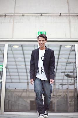 Schauspieler und Model Michael Dierks