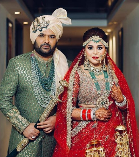 kapil sharma marriage pic - kapil sharma wife pic
