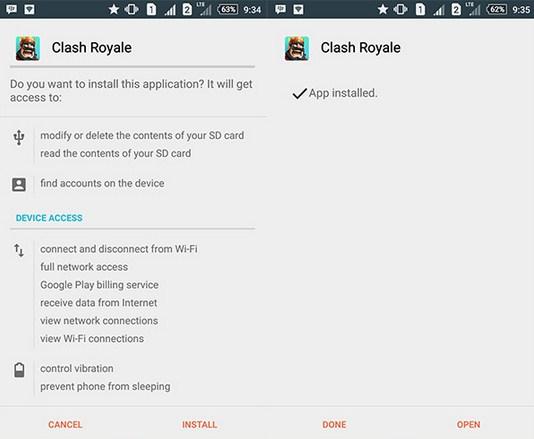 Cara Install dan Main Clash Royale Versi Terbaru di Android