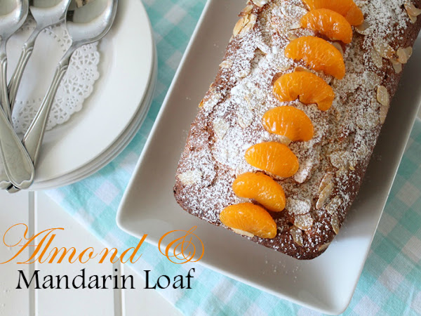 Almond and Mandarin Loaf