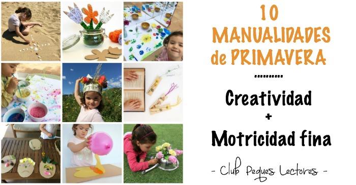 manualidades, diy, crafts, actividades infantiles primavera motricidad fina