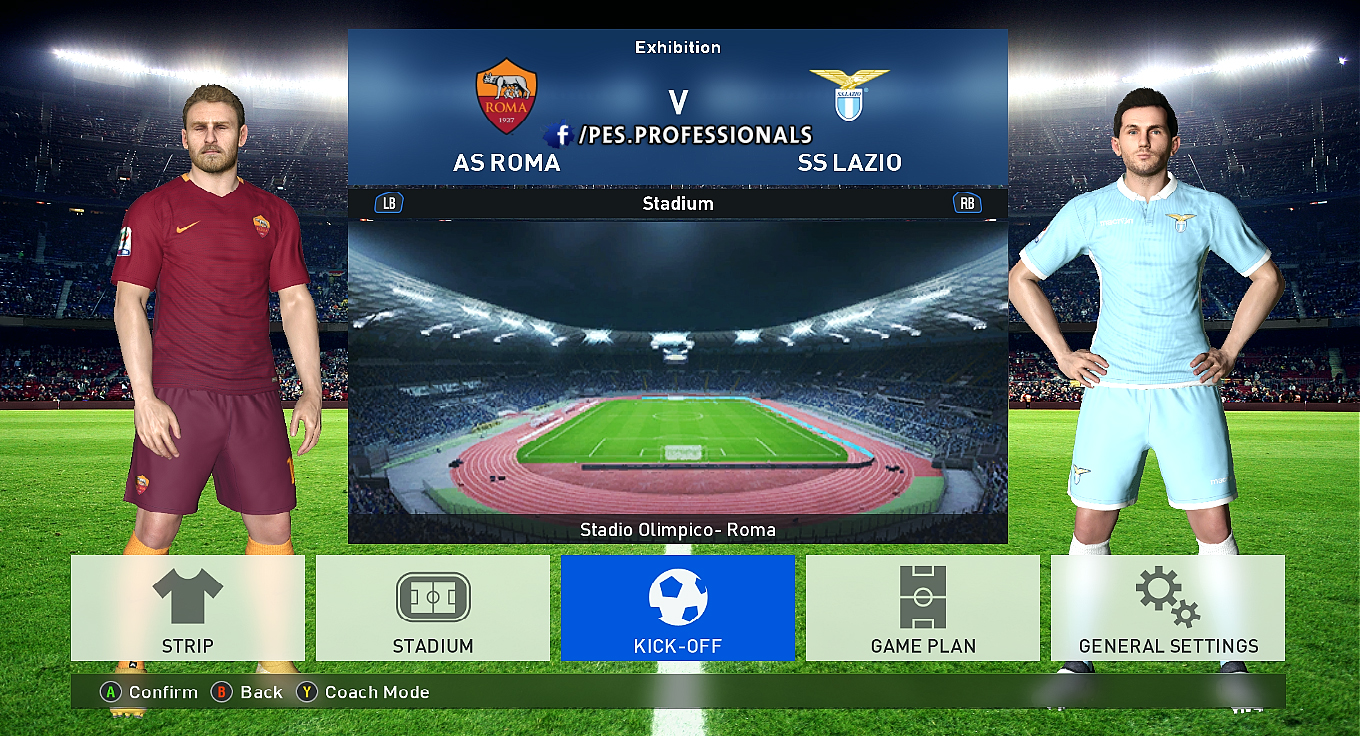 Stadiums Pack PES Profesisonals Patch V1