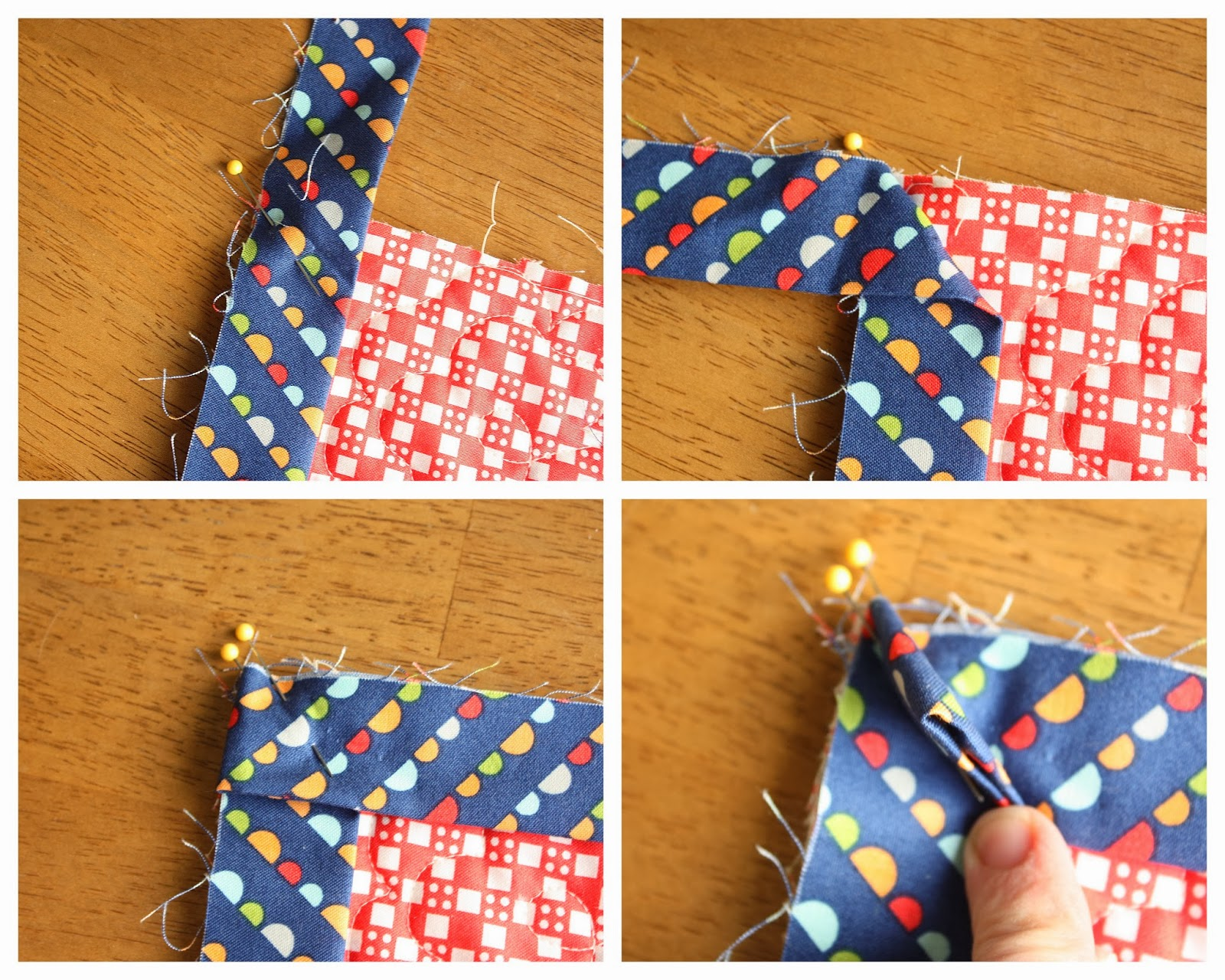 How to Finish and Bind a Quilt - Diary of a Quilter - a quilt blog : quilts corner - Adamdwight.com