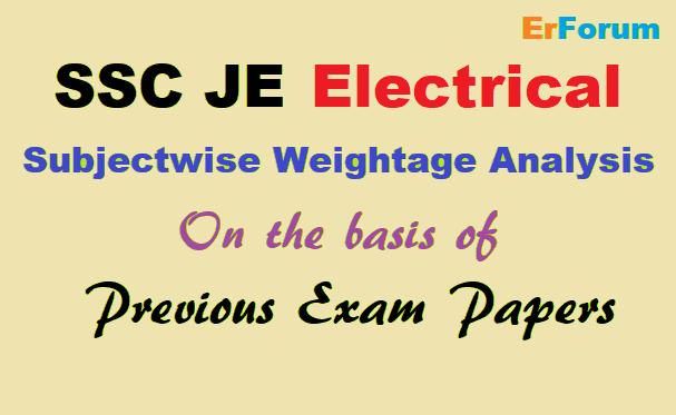 ssc-je-electrical-priority-list