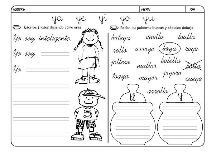"""""""Educadora De Ilusiones"""": Letra Y"""