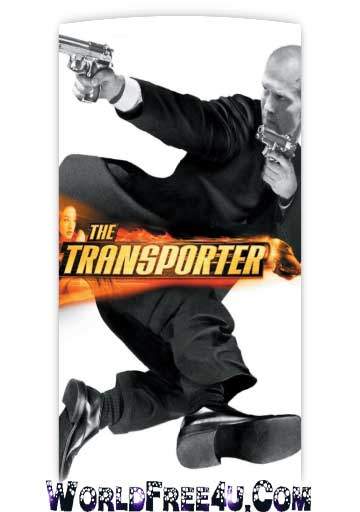 Poster Of Free Download The Transporter 2002 300MB Full Movie Hindi Dubbed 720P Bluray HD HEVC Small Size Pc Movie Only At worldfree4u.com