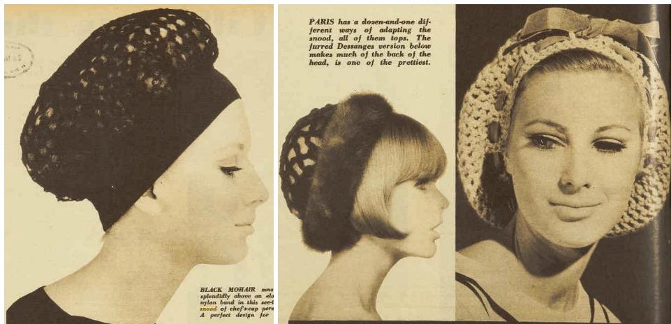 1960s snoods