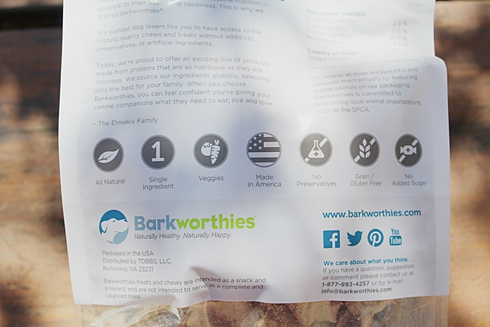 BARKWORTHIES ALL NATURAL SWEET POTATO CHIPS DOG TREATS REVIEW!