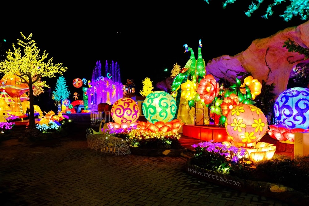 My Time Capsule Indonesia Malang Night Paradise Lampion Dinosaurus Park