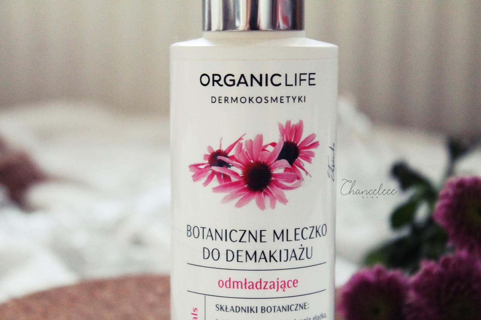 Organic Life Botaniczne, odmładzające mleczko do demakijażu