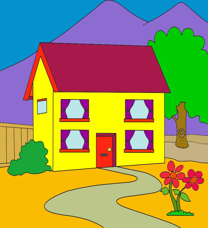 Gambar Rumah Minimalis Kartun Gambar Kartun Rumah Unik Menarik