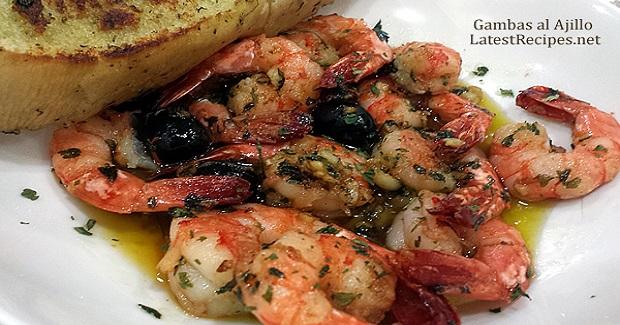 Gambas Al Ajillo (Garlic Shrimp In Olive Oil) Recipe