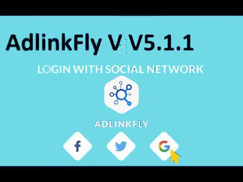 Download Adlinkfly Script v4.5.1