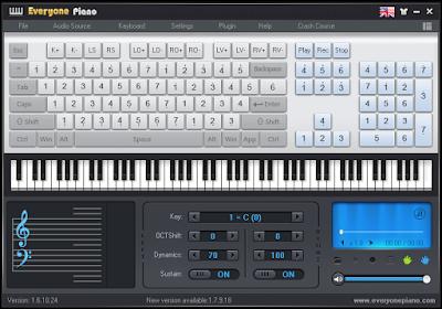 Software piano untuk PC, asyik!