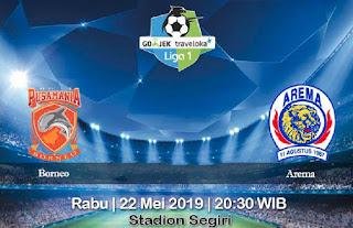 Prediksi Borneo vs Arema 22 Mei 2019