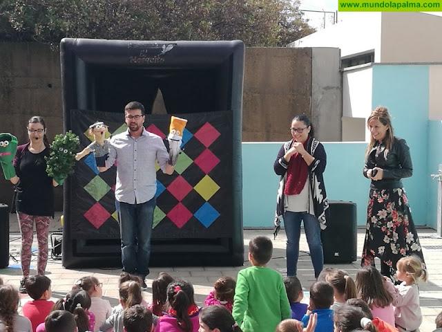 El Cabildo continúa su campaña de prevención de incendios forestales en los centros escolares de la isla