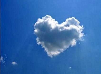 сердце в виде облака