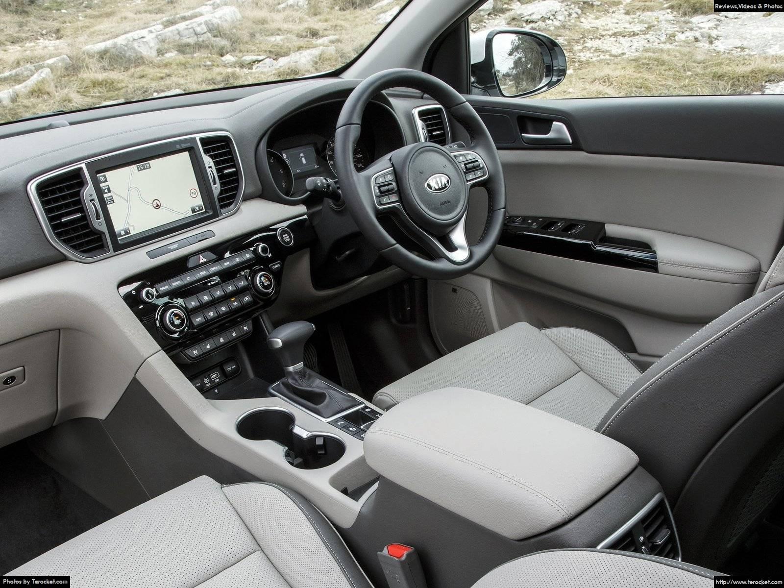 Hình ảnh xe ô tô Kia Sportage UK-Version 2016 & nội ngoại thất