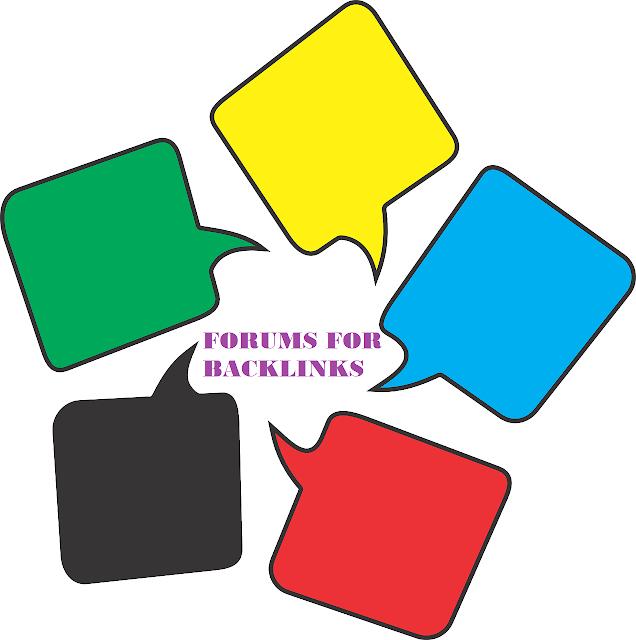 Dofollow forum posting sites list