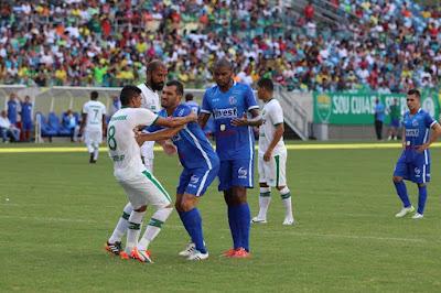 821fa42276 Diante de quase cinco mil torcedores na Arena Pantanal (4.922 presentes e  3.117 pagantes)