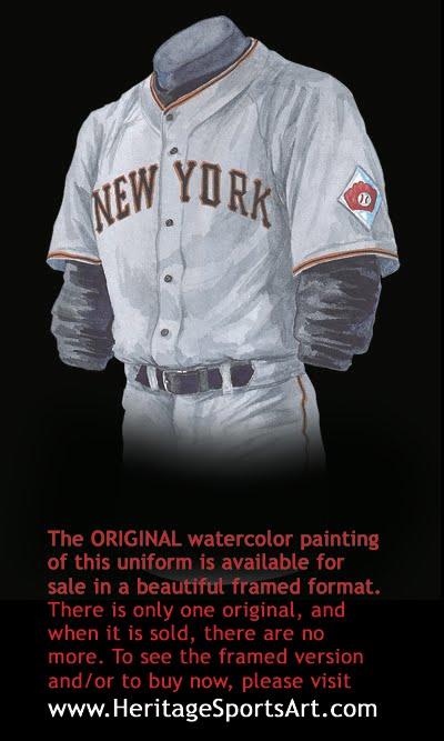 reputable site 336c7 e1243 San Francisco Giants Uniform and Team History | Heritage ...