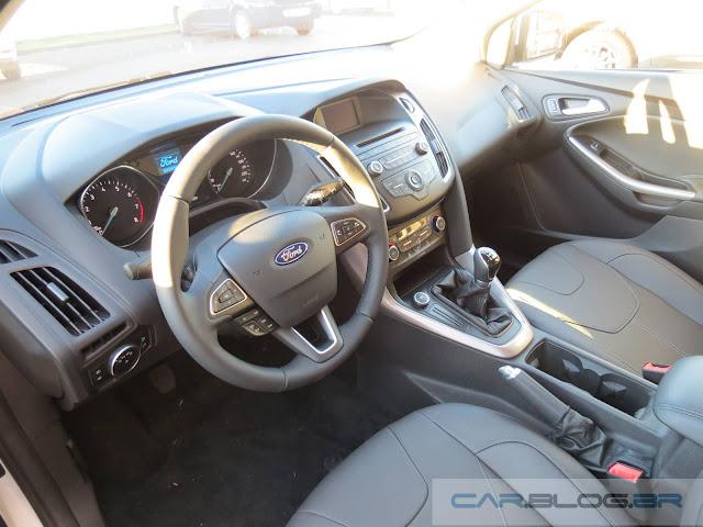 Ford Focus 2016 - interior - Preço