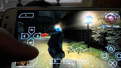 Game Tenchu Shadow Assassins ISO HighCompress For PPSSPP Android