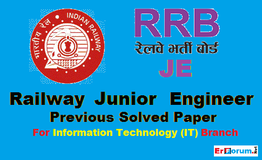 Rrb Je Electrical Question Paper 2014 Pdf