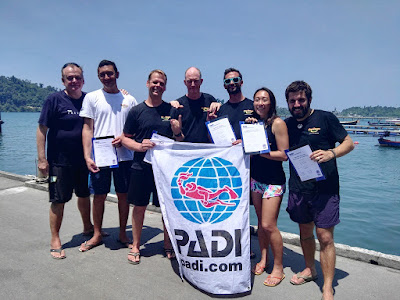 PADI IE in Khao Lak, Thailand for March 2018 has been completed