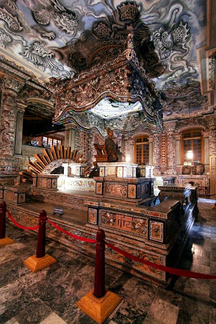 Tumba Imperial de Khai Dinh (Hue)