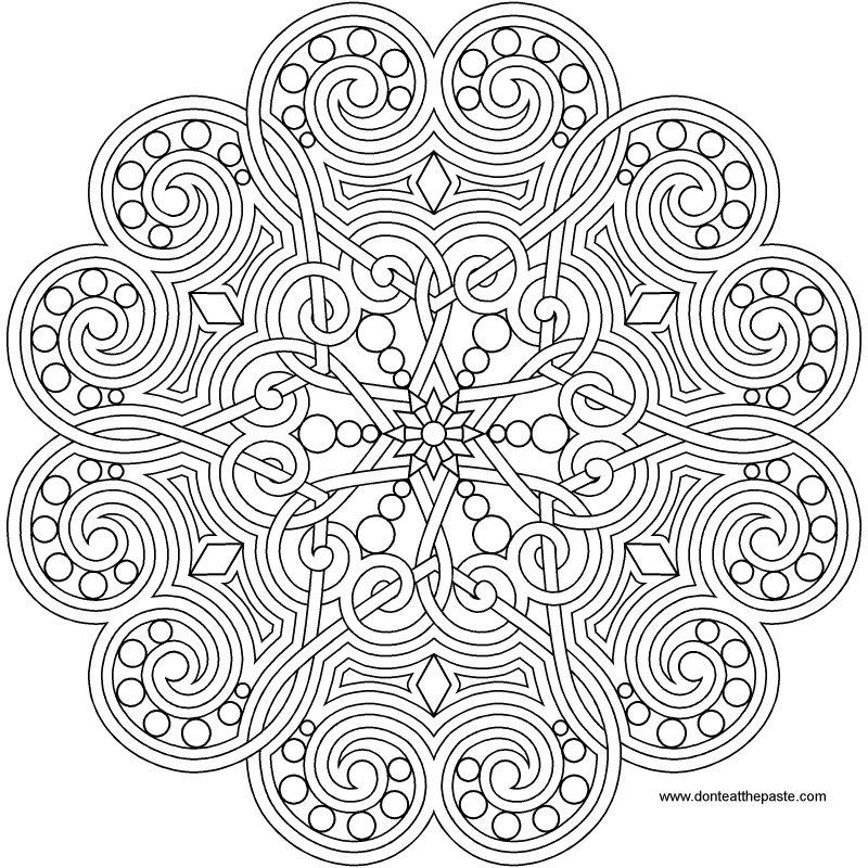 1000+ images about dessin de mandalas on Pinterest